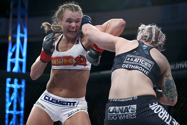Andrea Kgb Lee Mma Stats Pictures News Videos Biography