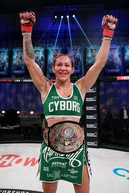 Bellator MMA Champion CRIS 'CYBORG